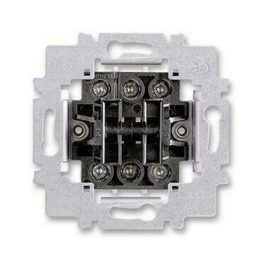 ABB 3558-A52340 Přístroje Přístroj přepínače dvojitého střídavého, řazení 6+6