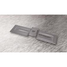 wpr2654 PTA-CON4-140-SS nerez. příchytka CONTINENTAL 4 pro pásy do š. 19,5 mm, délka spony 142 mm