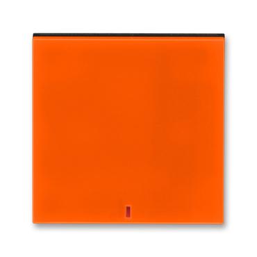 ABB 3559H-A00655 66 Levit Kryt spínače kolébkového s červeným průzorem