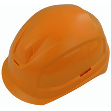 Elektrikářská ochranná helma oranžová vel 52 - 61 cm