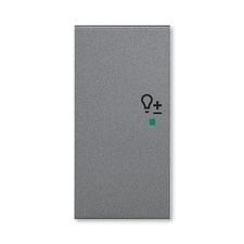 ABB 6220H-A02104 69 free@home Kryt 2násobný levý, symbol stmívání