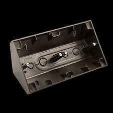 SIMON 54 Premium DPNR2/48 Rohová dvojitá povrchová krabice, pro rámečky SIMON 54 Premium, antracit m