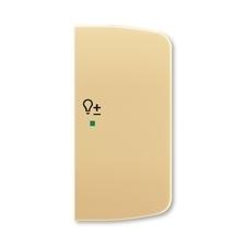 ABB 6220A-A02204 D free@home Kryt 2násobný pravý, symbol stmívání