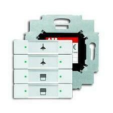 ABB 2CKA006117A0200 KNX Prvek ovládací 4násobný se sběrnicovou spojkou