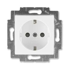 ABB 5520H-A03457 03 Jiné systémy zásuvek Zásuvka jednonásobná s ochrannými kontakty (podle DIN), s c