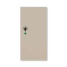 ABB 6220H-A02201 18 free@home Kryt 2násobný pravý, symbol osvětlení