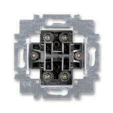 ABB 3558-A87340 Přístroje Přístroj ovládače zapínacího dvojitého, řazení 1/0+1/0