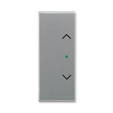 """ABB 6220E-A02002 36 free@home Kryt 2násobný levý/pravý, symbol """"žaluzie"""""""