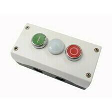 EATON 216533 M22-I3-M2 Skříňka se dvěma tlačítky O/I, LED, 2Z+2V, povrchová montáž