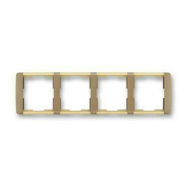 ABB 3901E-A00140 25 Element Rámeček čtyřnásobný, vodorovný