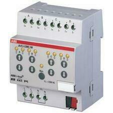 ABB 2CDG110028R0011 KNX Řadový žaluziový akční člen s ručním ovládáním, 4násobný, SMI