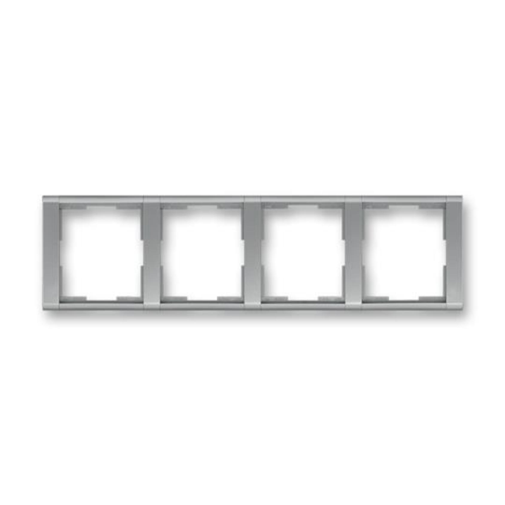 ABB 3901F-A00140 36 Time Rámeček čtyřnásobný, vodorovný