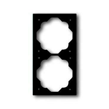 ABB 2CKA001754A4425 Impuls Rámeček dvojnásobný, pro vodorovnou i svislou montáž