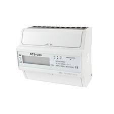EL 1000886 Elektroměr DTS 353-L 100A, 7mod., LCD, 3-fáz., 1-tar., podružný RP 0,60kč/ks