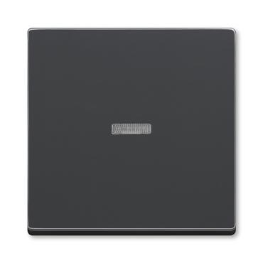 ABB 3559B-A0065381 Kryt spínače jednoduchý, s čirým průzorem Future
