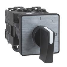 "SCHN K1D024MLH Přepínač rozsahu voltmetru, s polohou ""0"" - 3 polohy RP 0,17kč/ks"