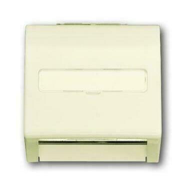 ABB 2CKA001753A0053 Impuls Kryt zásuvky komunikační, s popisovým polem (pro nosnou masku)