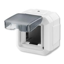 ABB 3903N-C06541 B Krabice nástěnná pro přístroje 45x45, s víčkem, pro průběž. mont., IP54 IPxx