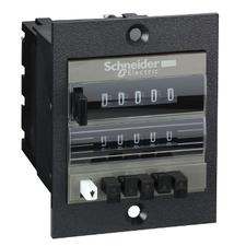 SCHN XBKP50100U10M El.mech. počítadlo s předvolbou, 24V DC RP 0,28kč/ks