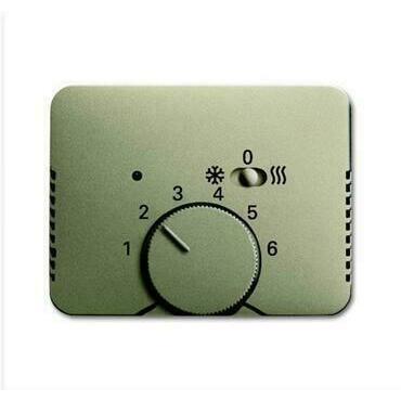 ABB 2CKA001710A4035 Alpha Kryt termostatu pro topení/ chlazení, s posuvným přepínačem