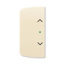 ABB 6220A-A02002 C free@home Kryt 2násobný levý/pravý, symbol žaluzie