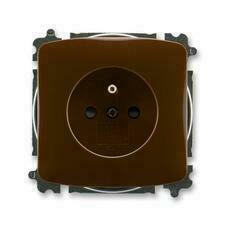ABB 5519A-A02357 H Tango Zásuvka jednonásobná, chráněná, s clonkami, s bezšroub. svorkami