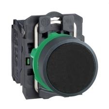 SCHN XB5AA21 Ovládač stiskací lícující, 1 Z - černý RP 0,04kč/ks