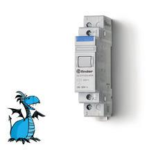 FINDER instalační relé 22.21.9.024.4000, 1Z/20A, 24V DC