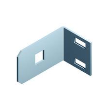 OEZ:35815 Držáky svislé lišty PD-QK-2D