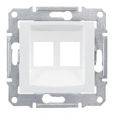 SCHN SDN4400621 Kryt datové zásuvky 2xRJ45-AMP, Molex, Keline, polar RP 0,06kč/ks