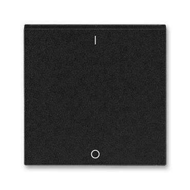 ABB 3559H-A00933 63 Levit Kryt jednoduchý s potiskem a čirým průzorem (pro spínače řaz. 3S)