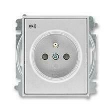 ABB 5589E-A02357 08 Time Zásuvka s přepěťovou ochranou, s akustickou signalizací poruchy