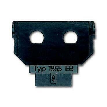 ABB 2CKA001764A0067 Sdělovací technika Maska nosná - 2x zásuvka BNC/TNC s pájecím vývodem