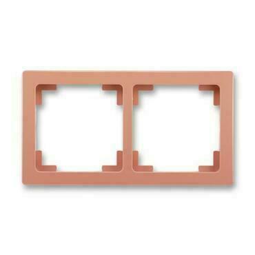 ABB 3901J-A00020 R3 Swing Rámeček dvojnásobný, pro vodorovnou i svislou montáž