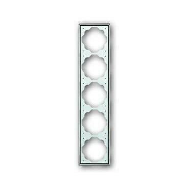 ABB 2CKA001754A4137 Impuls Rámeček pětinásobný, pro vodorovnou i svislou montáž