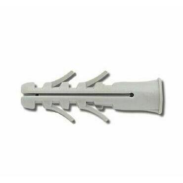 EL 1734044 Hmoždinka standardní UPA-L 16x90, s lemem, do plných mat., šedá