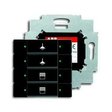 ABB 2CKA006117A0231 KNX Prvek ovládací 4násobný se sběrnicovou spojkou