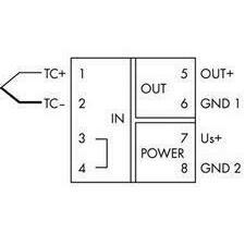 WAGO 857-810 Měřicí transformátor teploty pro termočlánky