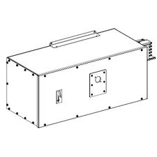 SCHN KSA630ABGD4 Koncová napájecí skříň 630 A levás jištěním RP 43,12kč/ks