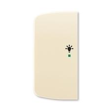 ABB 6220A-A02101 C free@home Kryt 2násobný levý, symbol osvětlení