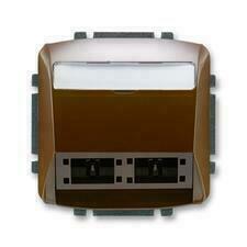 ABB 5014A-A00420 H Tango Kryt zásuvky komunikační (pro prvky R&M freenet)