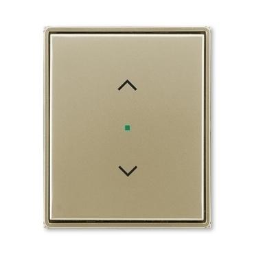"""ABB 6220E-A01002 33 free@home Kryt 1násobný, symbol """"žaluzie"""""""
