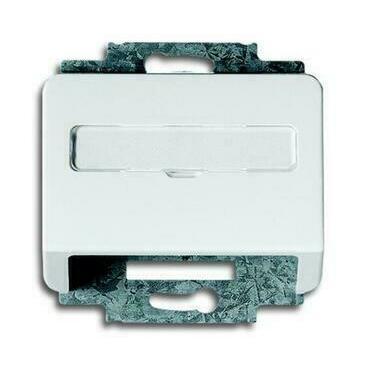 ABB 2CKA001724A2067 Alpha Kryt zásuvky komunikační, s popisovým polem (pro nosnou masku)