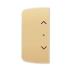 ABB 6220A-A02002 D free@home Kryt 2násobný levý/pravý, symbol žaluzie