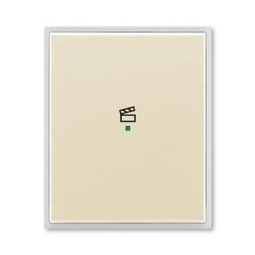 """ABB 6220E-A01003 21 free@home Kryt 1násobný, symbol """"scény"""""""