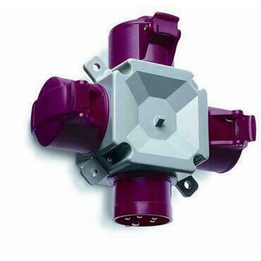 ABB 2CMA168122R1000 Průmyslové vidlice a z. Rozbočovač trojcestný, 4p., 16 A, IP44, 6 h