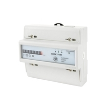 EL 1008870 Elektroměr EDIN 371M, 100A, 7mod., mechanický číselník, 3-fáz., 1-tar., podružný RP 0,60k