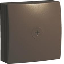 HAG ATA707598014 Krabice pro rozbočení, 75x75, PVC, hnědá