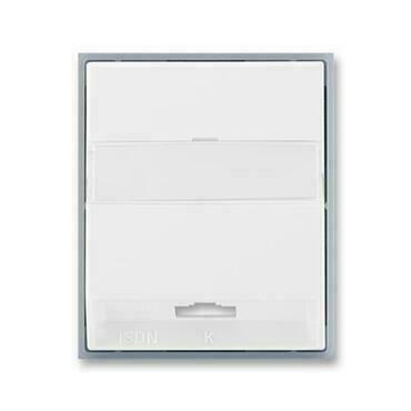 ABB 5013E-A00251 04 Element Kryt zásuvky ISDN koncové, jednonásobné