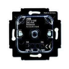 ABB 2CKA006599A2987 Přístroje Přístroj potenciometru DALI pro tlač. spínání a otoč. ovl. (2117 U-500